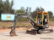 2012 VOLVO ECR38 MINI EXCAVATOR- EXCAVATOR- LOADER- VOLVO- CAT- DEERE- 26 PICS