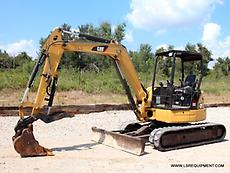 2014 CATERPILLAR 305E2 CR MINI EXCAVATOR- EXCAVATOR- CATERPILLAR- CAT- 25 PICS