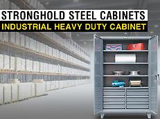 INDUSTRIAL HEAVY DUTY STRONGHOLD CABINETS