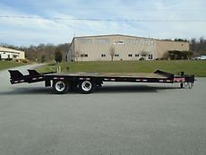 1993 INTERSTATE TAG-ALONG 24' 10 TON FLATBED TRAILER
