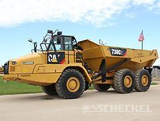 2018 Cat 730C2, Haul Truck, A02970