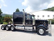WESTERN STAR 4900 EX CONSTELLATION DOUBLE FRAME HEAVY HAUL TRACTOR WITH WET LINE