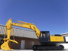 1989 KATO HD1250SELV EXCAVATOR WITH HYDRAULIC THUMB