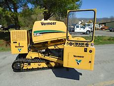 2013 VERMEER SC60TX TRACK STUMP GRINDER WITH AUTO SWEEP AND A CAT TURBO DIESEL