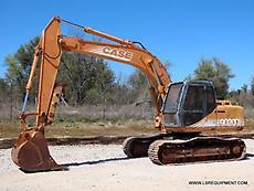 2000 CASE 9020B EXCAVATOR- EXCAVATOR- LOADER- CRAWLER- DEERE- 38 PICS