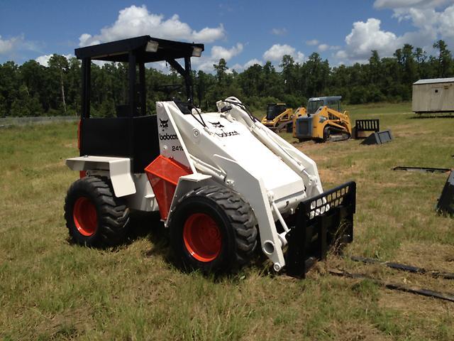 Bobcat 2410 Wheel Loader Rubber Tire Loader Payloader