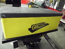 GROTECH 62 GALLON SALT SPREADER